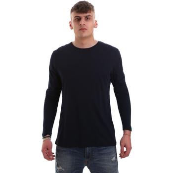 textil Herr Långärmade T-shirts Antony Morato MMKL00264 FA100066 Blå
