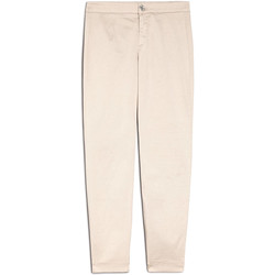 textil Dam Chinos / Carrot jeans NeroGiardini E060100D Beige