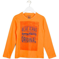 textil Barn Sweatshirts Losan 713 1302AA Orange