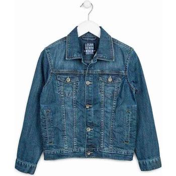 textil Barn Jeansjackor Losan 713 2650AA Blå
