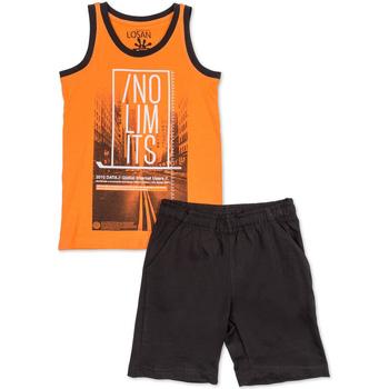 textil Pojkar Set Losan 713 8044AA Orange