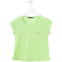 textil Flickor T-shirts Losan 714 1013AB Grön