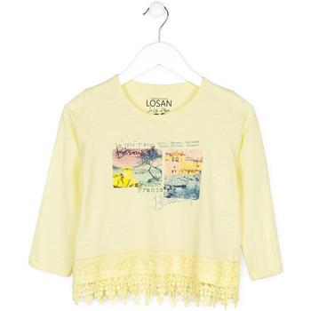 textil Barn Tröjor Losan 714 1031AB Gul