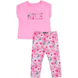 textil Flickor Set Losan 714 8004AB Rosa