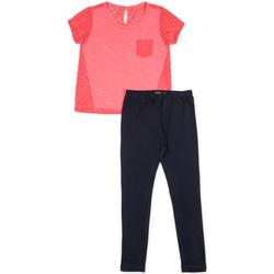 textil Flickor Set Losan 714 8008AB Rosa