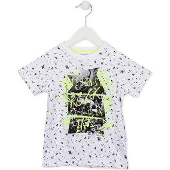 textil Barn T-shirts Losan 715 1008AC Vit