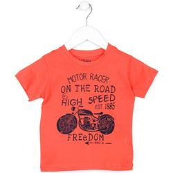 textil Barn T-shirts Losan 715 1215AC Orange