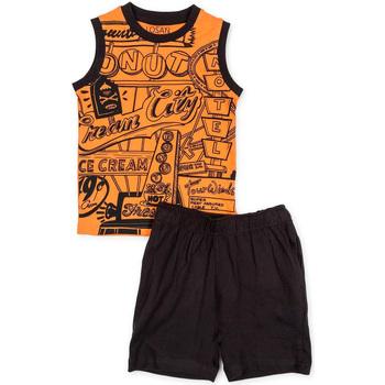 textil Pojkar Set Losan 715 8043AC Orange