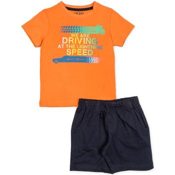 textil Pojkar Set Losan 715 8047AC Orange
