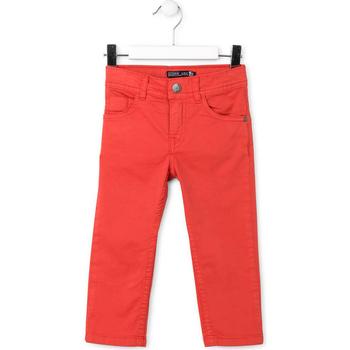 textil Barn 5-ficksbyxor Losan 715 9650AC Röd