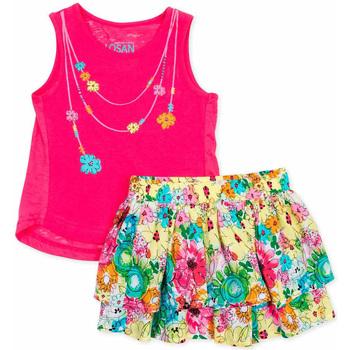textil Flickor Set Losan 716 8001AD Rosa