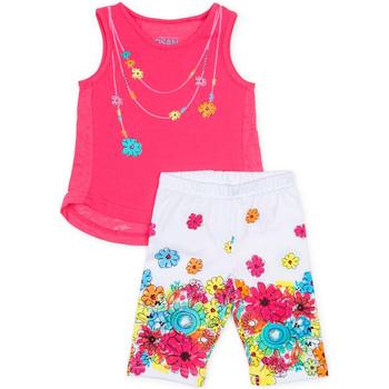 textil Flickor Set Losan 716 8002AD Rosa