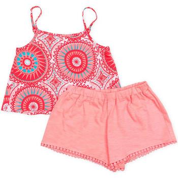 textil Flickor Set Losan 716 8009AD Rosa
