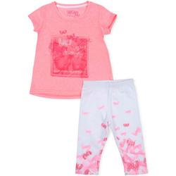 textil Flickor Set Losan 716 8014AD Rosa