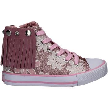 Skor Flickor Höga sneakers Lulu LV010072S Rosa