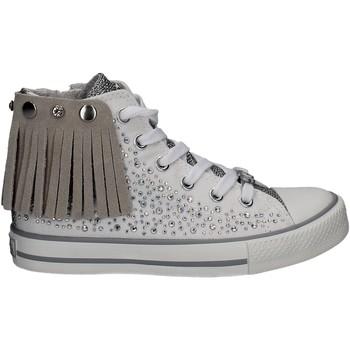 Skor Flickor Höga sneakers Lulu LV010072S Vit
