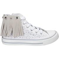 Skor Flickor Höga sneakers Lulu LV010074T Vit