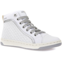 Skor Barn Höga sneakers Geox J72L5H 05411 Vit