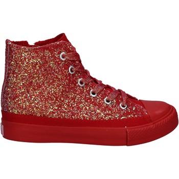 Skor Flickor Höga sneakers Lulu LV010077S Röd