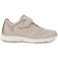 Skor Barn Sneakers Geox J642DA 01122 Beige