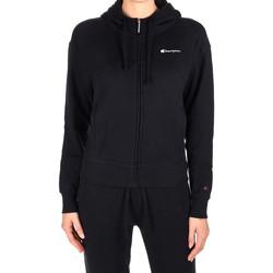 textil Dam Sweatshirts Champion 111987 Svart