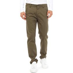 textil Herr Chinos / Carrot jeans Gas 360704 Grön