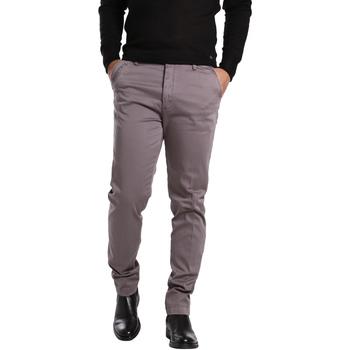 textil Herr Chinos / Carrot jeans Gas 360704 Grå