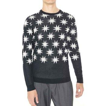 textil Herr Tröjor Antony Morato MMSW00742 YA400006 Svart