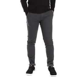 textil Herr Chinos / Carrot jeans Gaudi 721BU25007 Grå