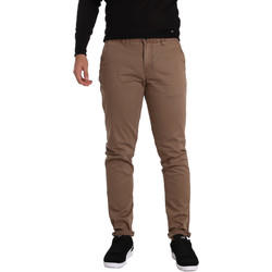textil Herr Chinos / Carrot jeans Gaudi 721BU25006 Brun