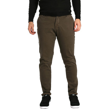 textil Herr Chinos / Carrot jeans Gaudi 721BU25014 Brun