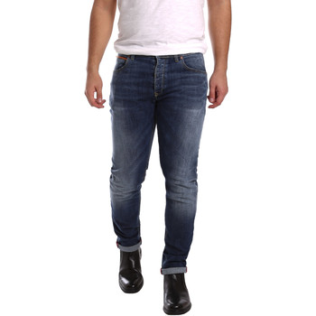 textil Herr Stuprörsjeans 3D P3D1 2659 Blå