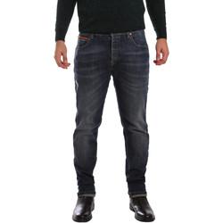 textil Herr Stuprörsjeans 3D P3D1 2667 Blå