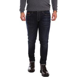 textil Herr Stuprörsjeans 3D P3D6 2659 Blå
