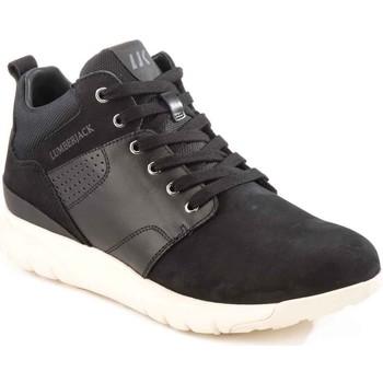 Skor Herr Höga sneakers Lumberjack SM34505 002 M20 Svart