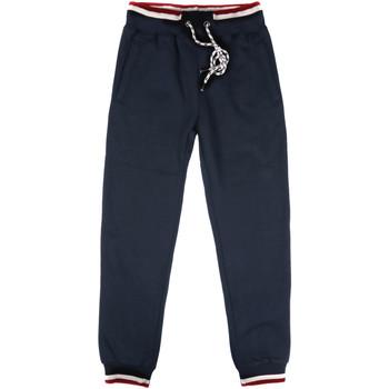 textil Herr Joggingbyxor Key Up SF24 0001 Blå