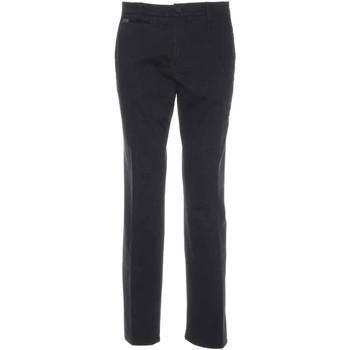 textil Herr Chinos / Carrot jeans Nero Giardini A770010U Svart
