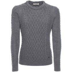 textil Herr Tröjor NeroGiardini A774090U Grå