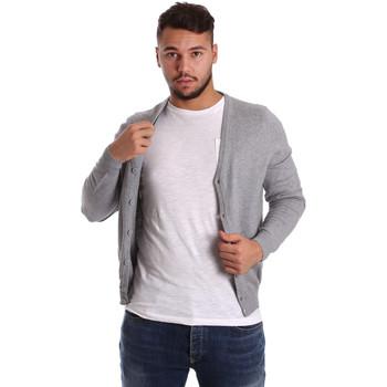 textil Herr Koftor / Cardigans / Västar Ransom & Co. CLAY-M065 Grå