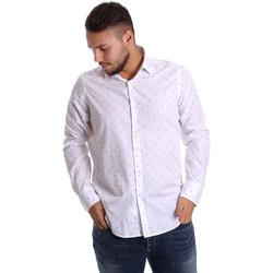 textil Herr Långärmade skjortor Gmf 972156/03 Vit