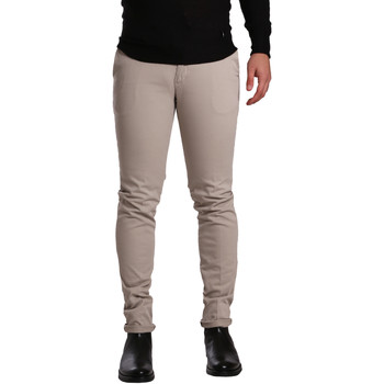 textil Herr Chinos / Carrot jeans Sei3sei PZV21 7275 Beige