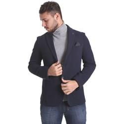 textil Herr Jackor & Kavajer Sei3sei PZG9 7291 Blå