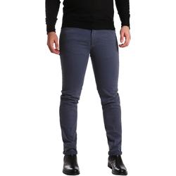 textil Herr 5-ficksbyxor Sei3sei PZV16 7239 Blå