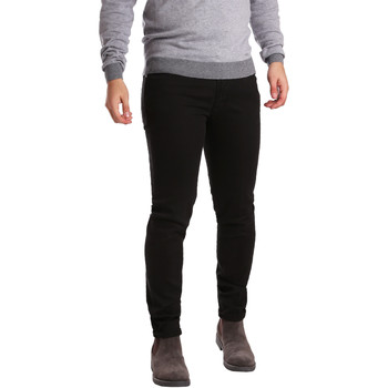 textil Herr 5-ficksbyxor Sei3sei PZV17 7257 Svart