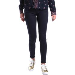 textil Dam Chinos / Carrot jeans Gas 355652 Blå