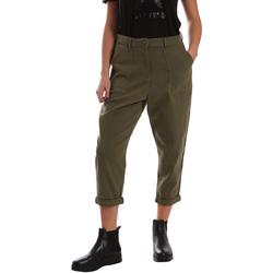 textil Dam Chinos / Carrot jeans Tommy Hilfiger DW0DW02588 Grön