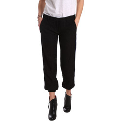 textil Dam Chinos / Carrot jeans Denny Rose 721DD20026 Svart