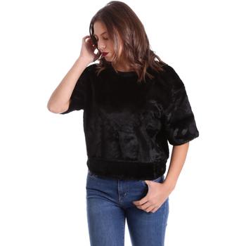 textil Dam Sweatshirts Converse 10006217 Svart