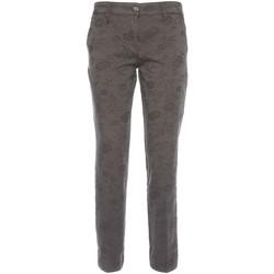 textil Dam Chinos / Carrot jeans NeroGiardini A760010D Svart