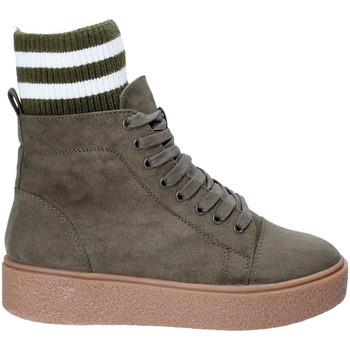 Skor Dam Höga sneakers Fornarina PI18HR1128S083 Grön